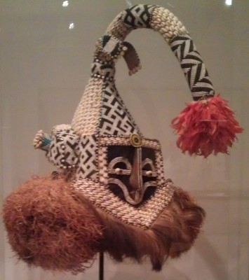 African Hat and Mask