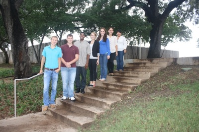 SHSU Students on the Grassy Knoll