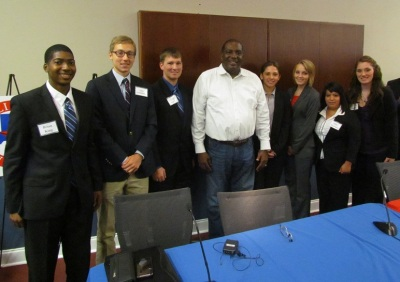 SHSU Students with TX Senator West