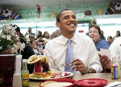 President Obama Smiles