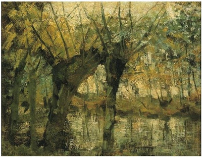 Willow Grove, by Piet Mondrian