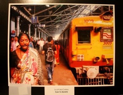 Train to Bandra, by Scott McCarley