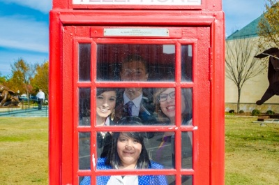 Telephone Booth Stuffing