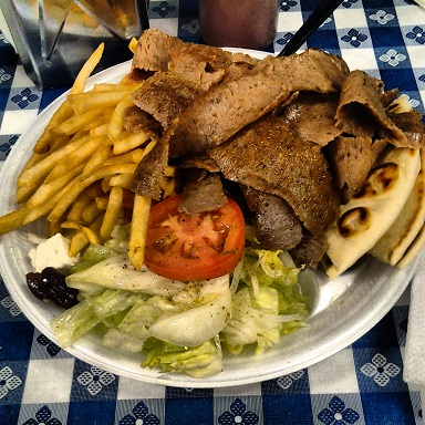 Gyros from Greek House