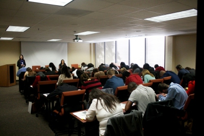 SHSU Students Take LSAT