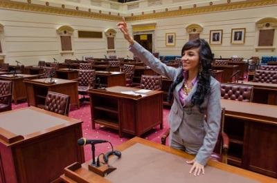 Jessica in the Senate
