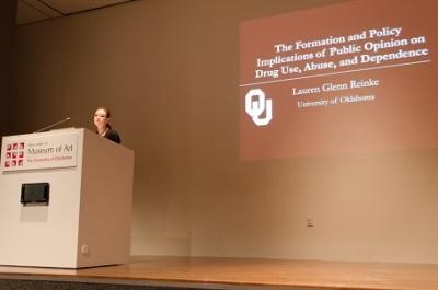 Lauren Reinke Presents on Substance Absue