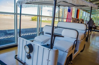 Presidential Golf Cart