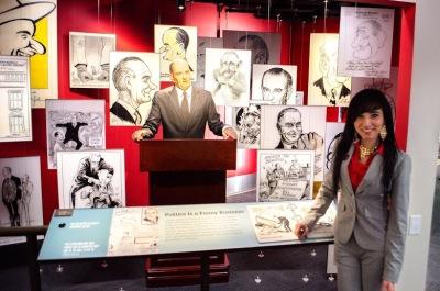 Jessica and Lyndon Johnson