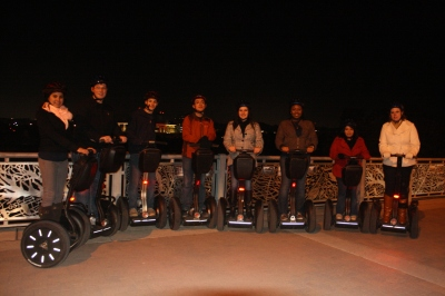 Students on Segways