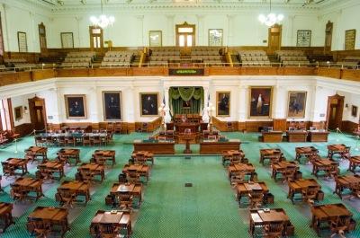 TX Senate Chamber