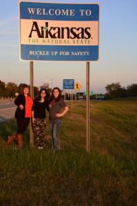 Constance, Silvia, Ariel, and Arkansas
