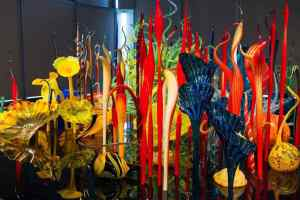 Chihuly Exhibit, Clinton Library