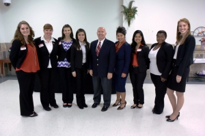 Congressman Kevin Brady & LEAP Center Students