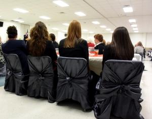 LEAP Center Students Listen to Champe Miller