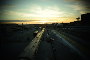 Train_Sunset