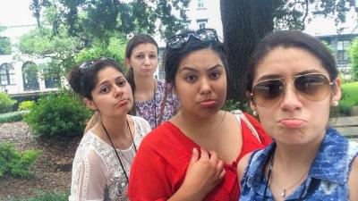 Girls Contemplate Leaving Savannah, GA