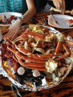 Crab Shack Sampler for Three
