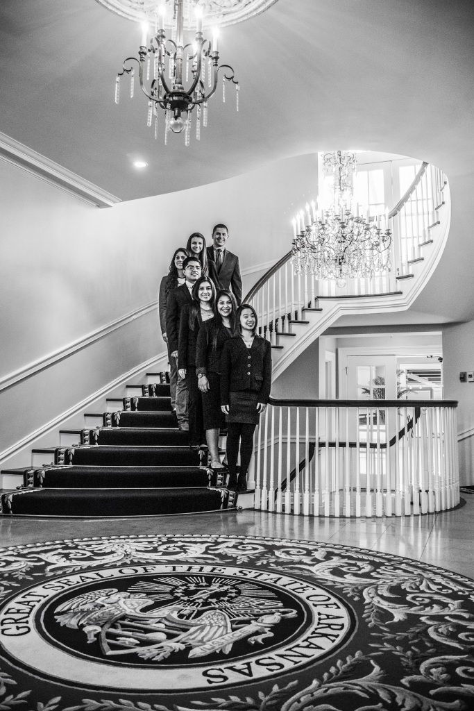 Ambassadors_Governors_Mansion_Stairs_BW_Web
