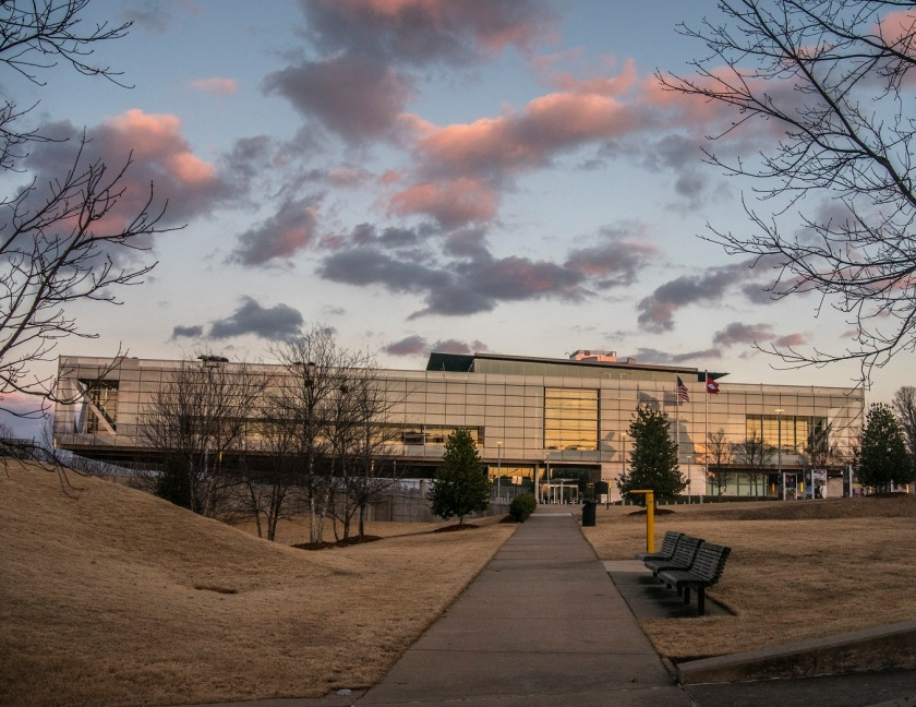 Clinton_Library_Sunset_Web