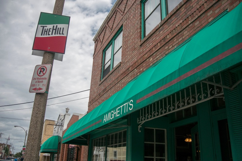 Amighetti's, in The Hill Section of St. Louis, MO
