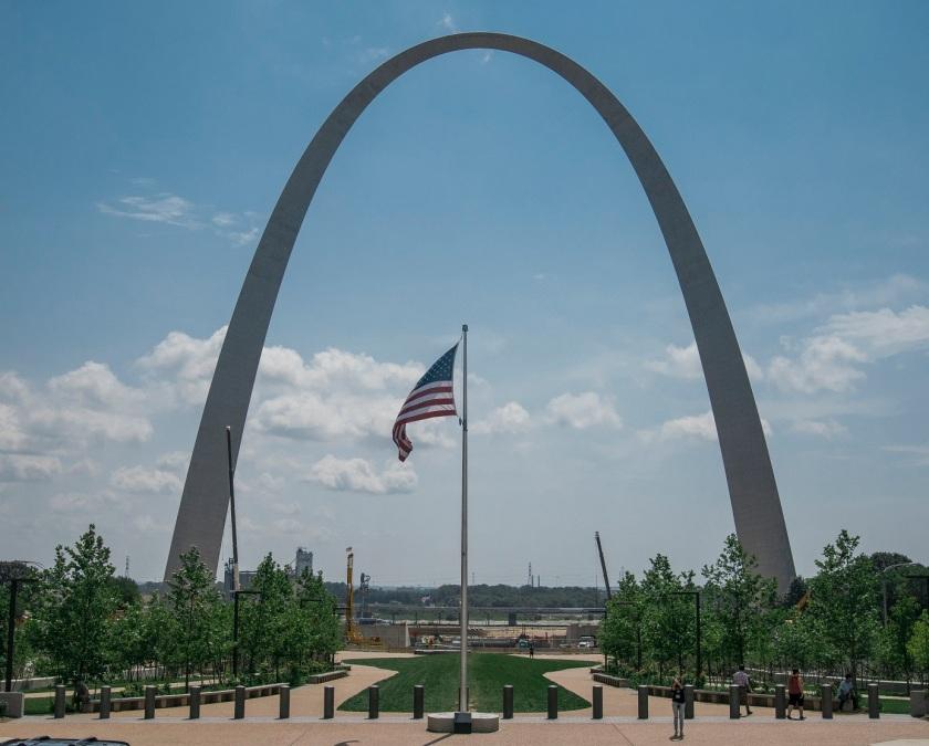 Gateway Arch, St. Louis,