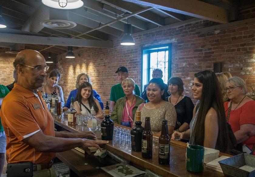 Buffalo Trace Distillery, Bourbon Tasting