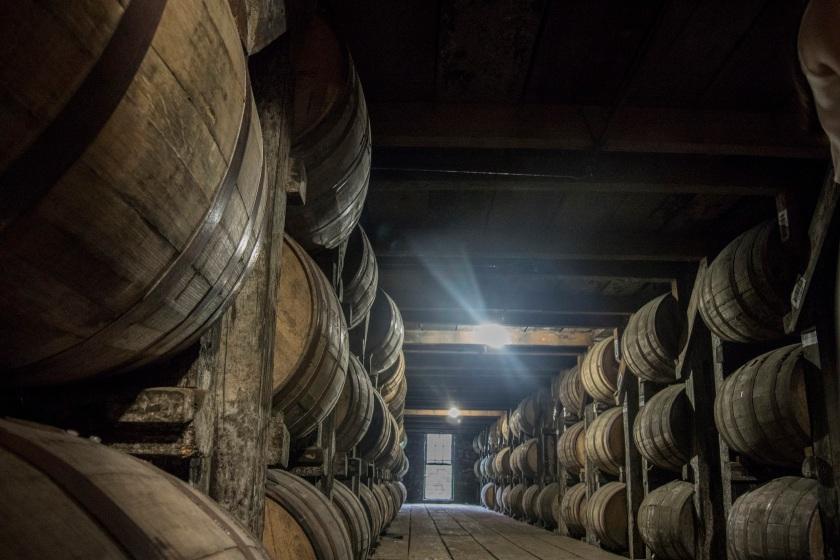 Bourbon, Barrels, Buffalo Trace Distillery, Frankfort, Kentucky