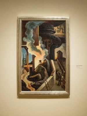 Thomas Hart Benton, Steel Mill, Crystal Bridges