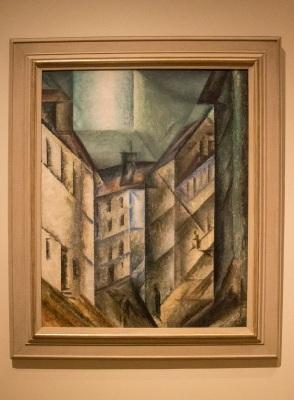 Lyonel Feinenger, Schlossgasse, Crystal Bridges, Cubism