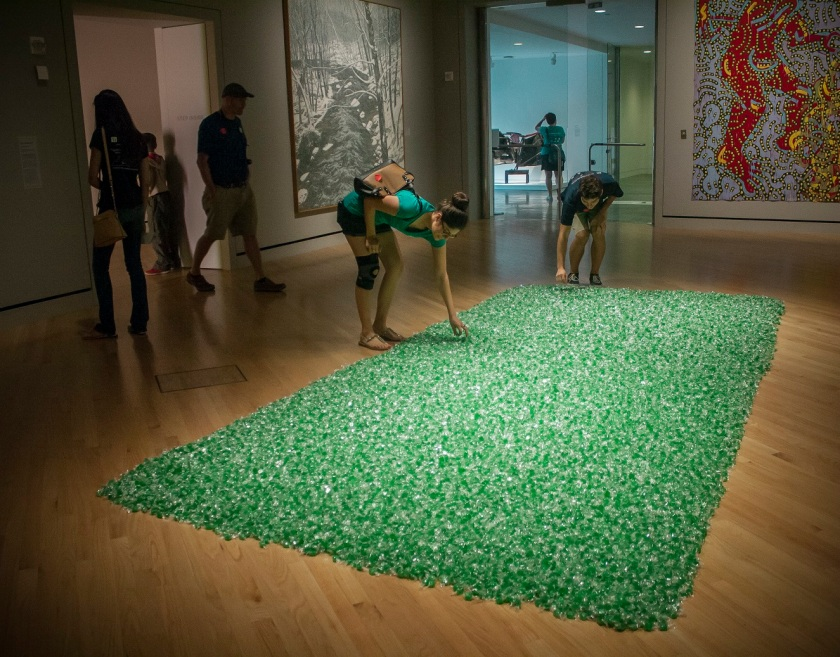 Felix Gonzales-Torres, Untitled, Candy, Crystal Bridges