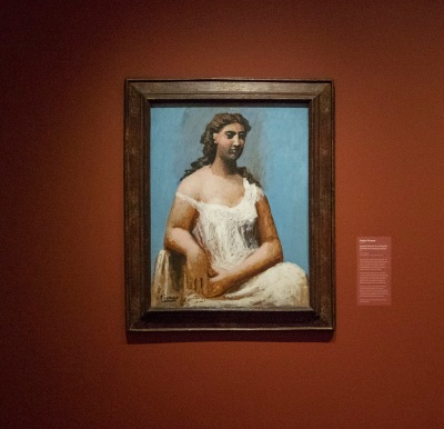 Crystal Bridges, Picasso, Seated Woman