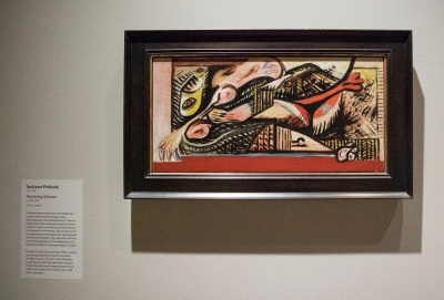 Crystal Bridges, Jackson Pollock, Reclining Woman