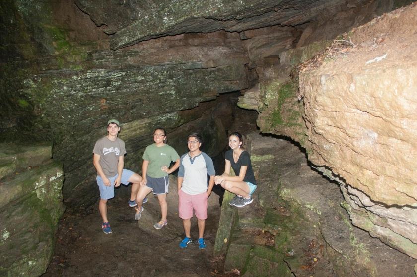 Devil's Den State Park, LEAP Ambassadors, Caverns