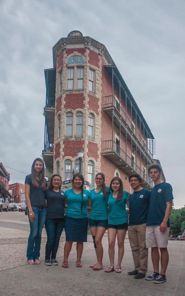 LEAP Ambassadors, Flatiron Building, Eureka Springs, AR