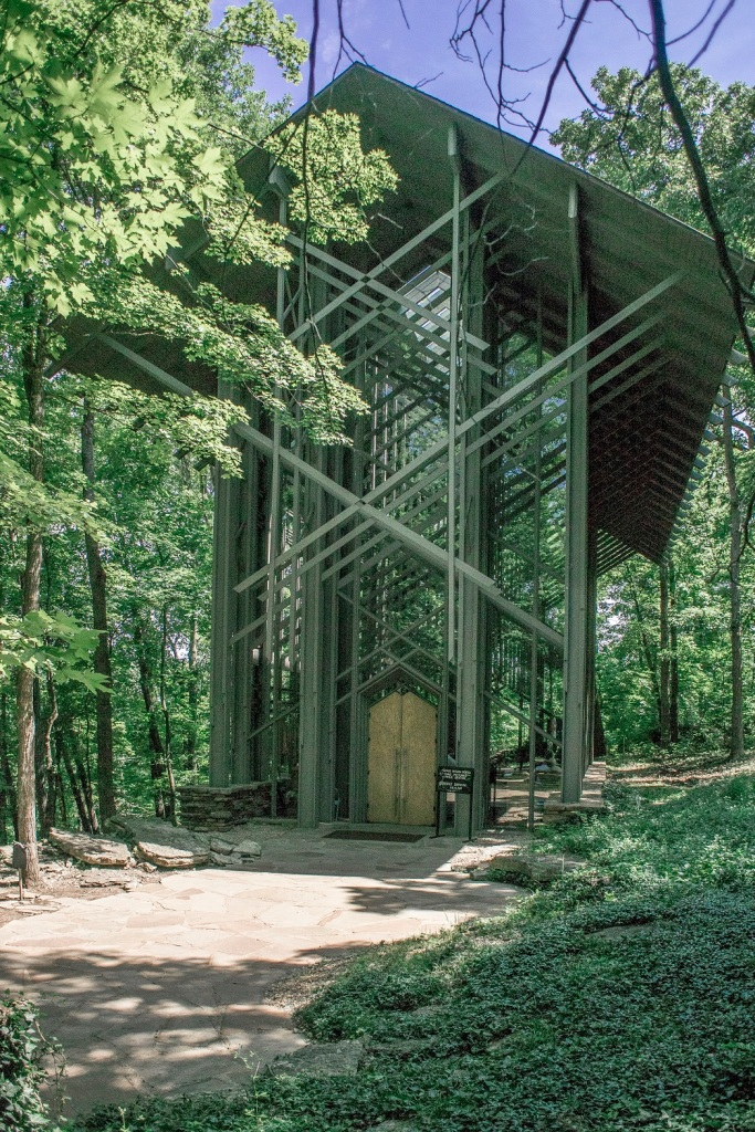 Eureka Springs, Thorncown Chapel, E. Fay Jones