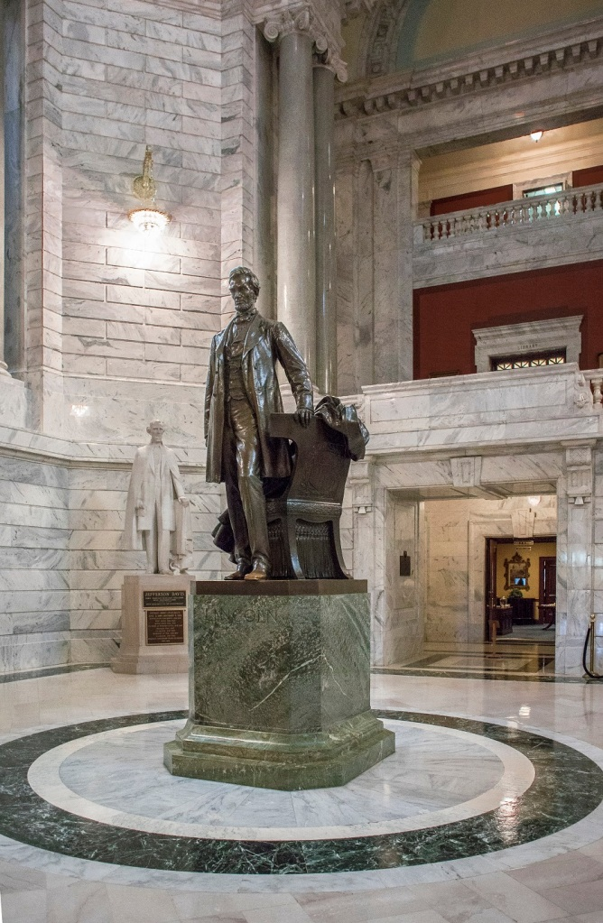 Abraham Lincoln, Jefferson Davis, Rotunda, Kentucky State Capitol