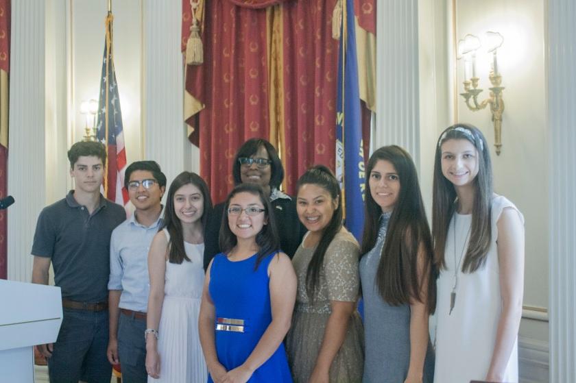 Kentucky Lieutenant Governor Jenean Hampton LEAP Ambassadors