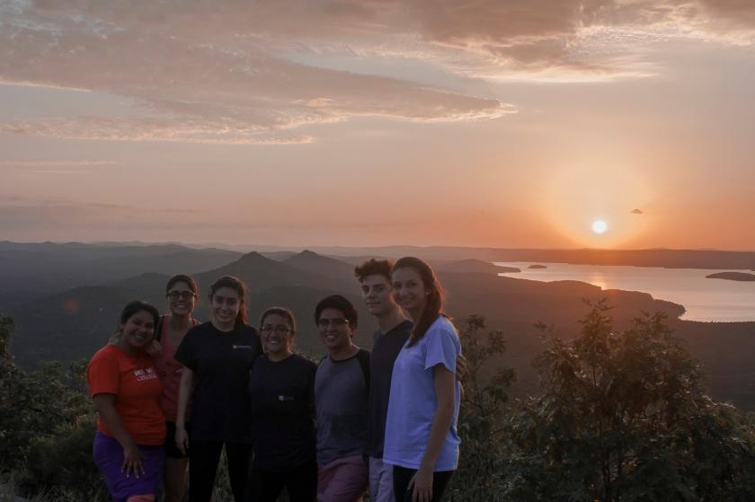 Pinnacle_Mountain_Hike_Group_Sunset_1_Web