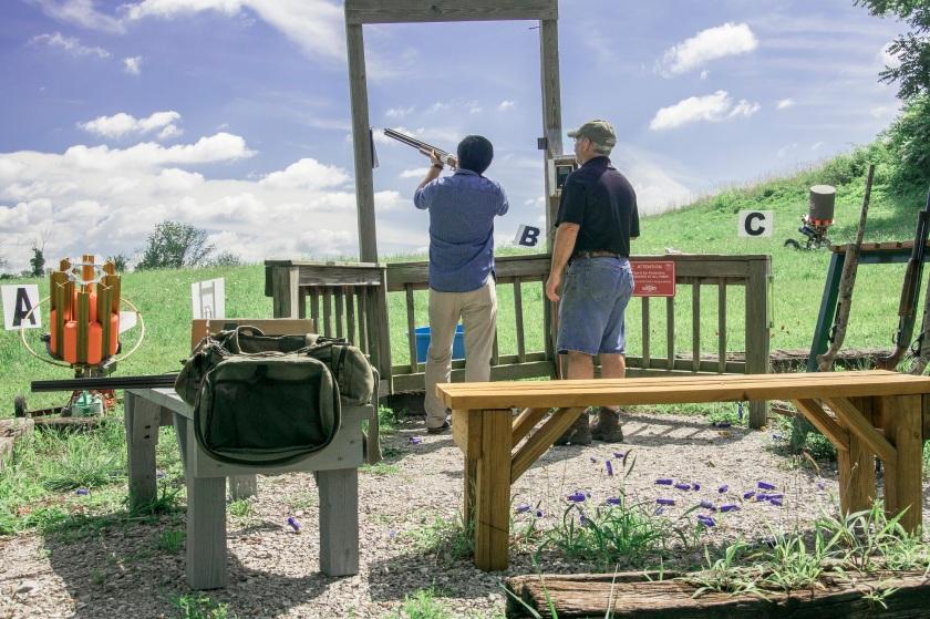 Brian Aldaco, Skeet Shooting