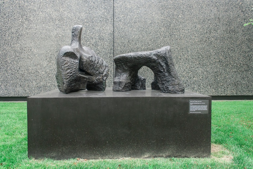 "Henry Moore's ""Two-Piece Reclining Figures"" at St. Louis Art Museum"