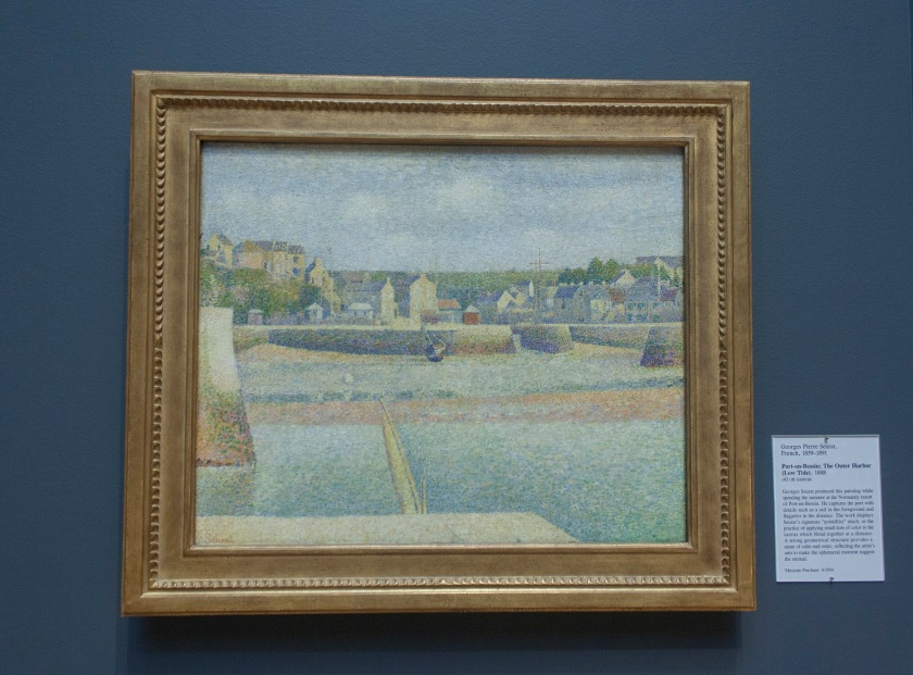 George Seurat, Pointillism, SLAM, Outer Harbor