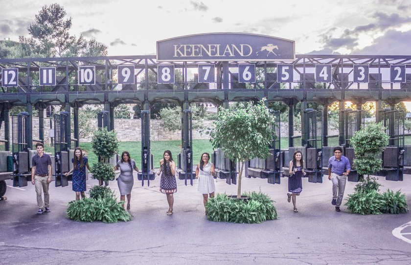 Keeneland Race Track Starting Gates
