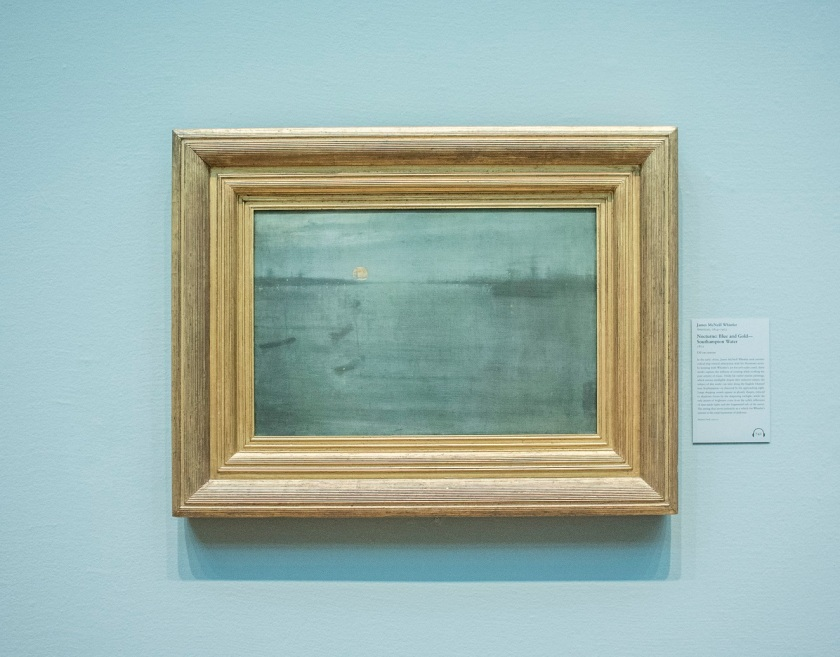 James Whistler's Nocturne, Art Institute of Chicago