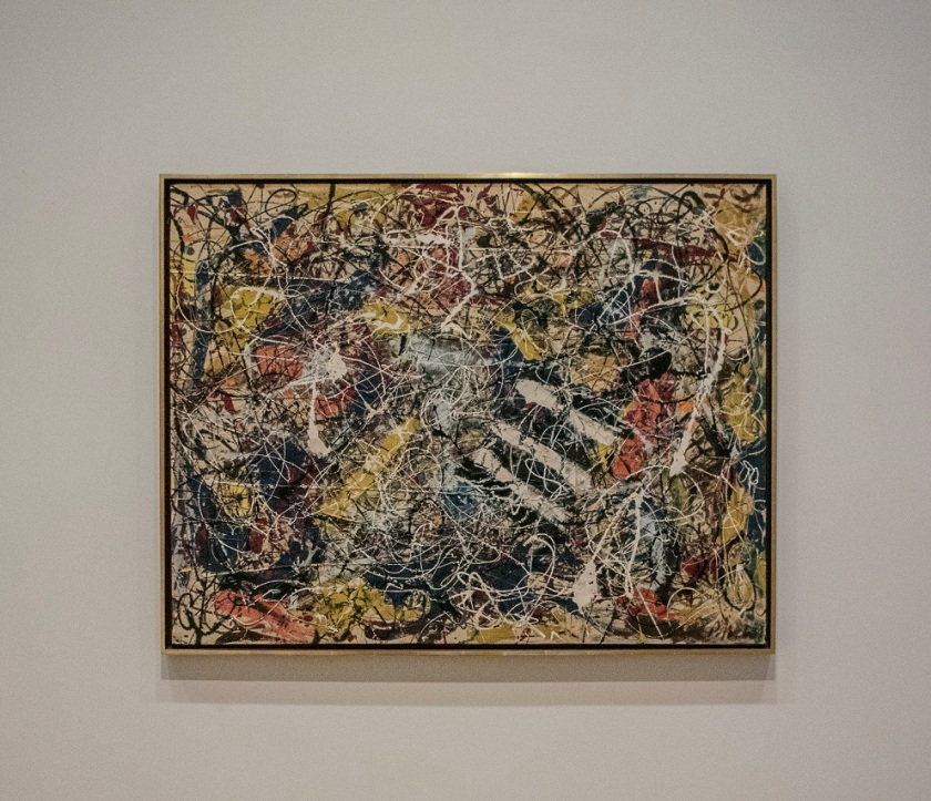 Jackson Pollock, Number 17A, Art Institute of Chicago