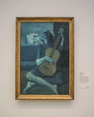 Pablo Picasso, The Old Guitarist, Art Institute of Chicago