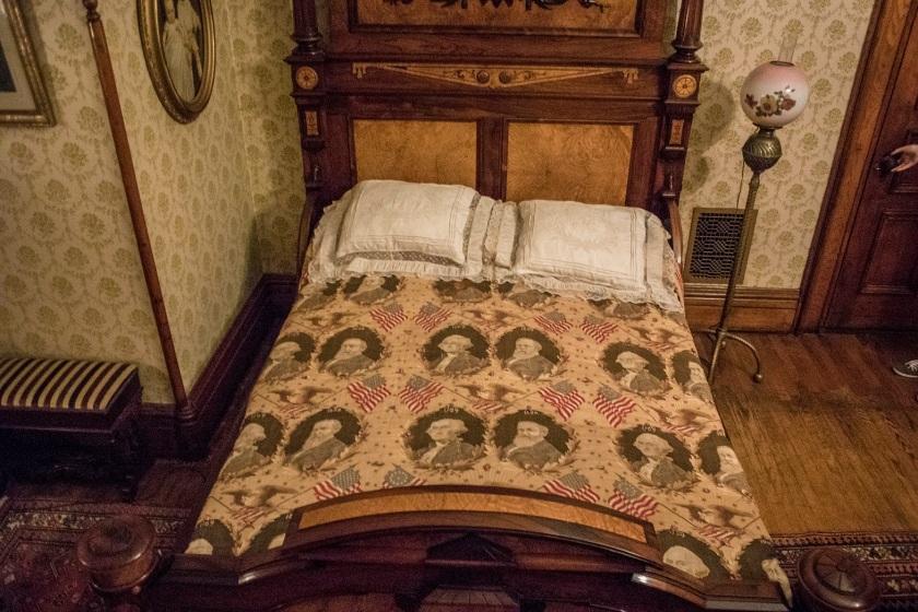 Benjamin Harrison Bed, Indianapolis