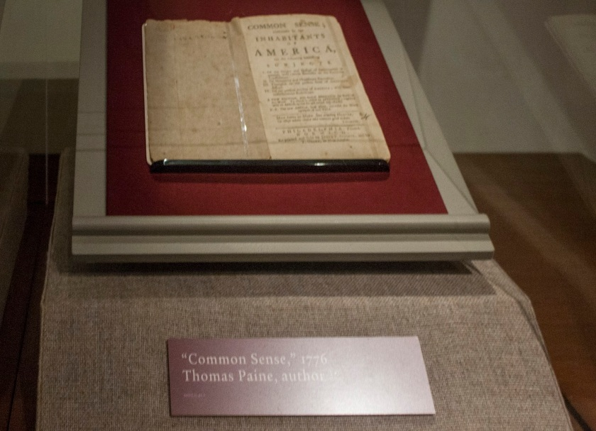 Thomas Paine, Common Sense, Henry Ford Museum