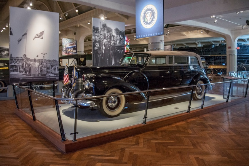 FDR's Presidential Limousine, Henry Ford Museum