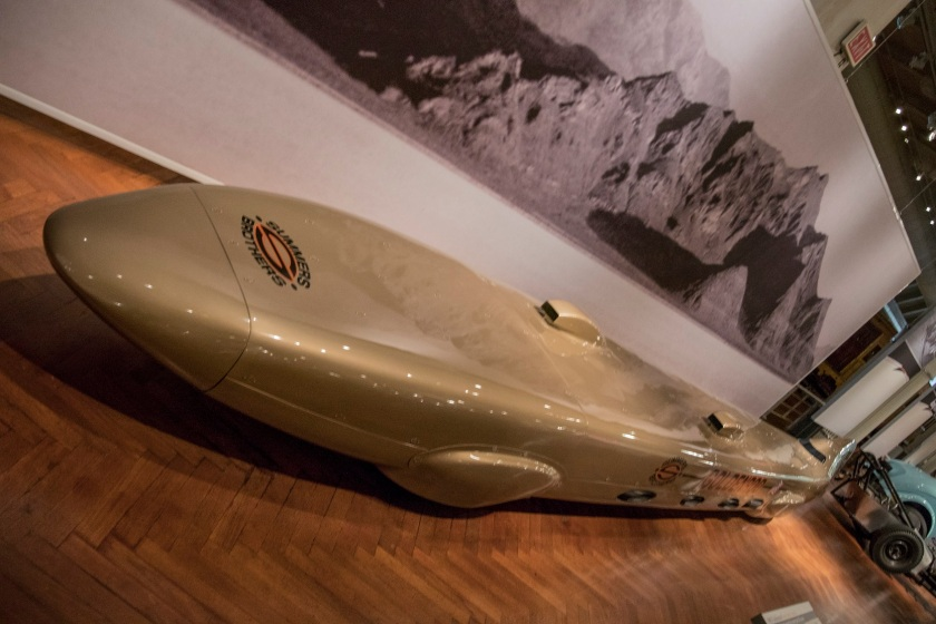 The Goldenrod, Henry Ford Museum, Land Speed Record